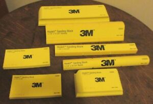 3m Hookit Sanding Block Kit 05684 7 Piece Set New