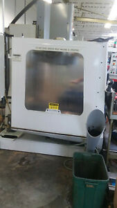 Haas Vf 4 Vertial Machining Milling Center 4th Axis Wired