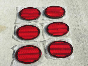 New Rv Camper Motorhome Trailer Bus 52 Led Stop Turn Tail Light Oval Red 8