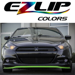 The Original Ez Lip Colors Lime Green Universal Body Kit Air Spoiler Ezlip Easy