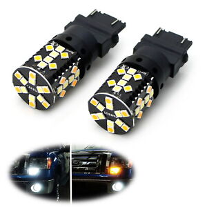 No Hyper Flash Switchback Led Turn Signal Light Bulbs For Ford F 150 F 250 F 350