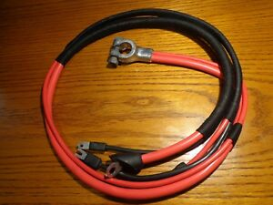68 Mopar B Body Charger Coronet Small Block 318 Concours Positive Battery Cable