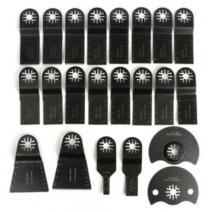 22pcs Oscillating Multi Tool Saw Blade Kit For Multimaster Fein Bosch Makita