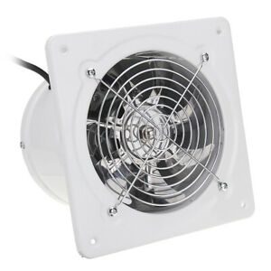 6 Inch 40w Inline Duct Booster Fan Extractor Exhaust And Intake Vent Fan