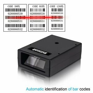 Usb Automatic Laser Barcode Scanner easy To Embedded Into An Terminal Devices