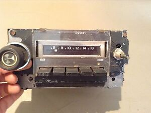 1970 1977 Chevy Gm Delco 8 track Am Radio 793200 Chevrolet Olds 71 72 73 74 75