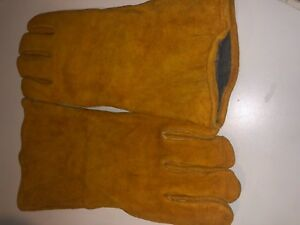 Lot Of 6 pairs Tillman Welding Gloves Color Brown Size L