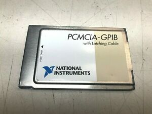 National Instruments Pcmcia gpib Controller Card 186736c 01 No Cable