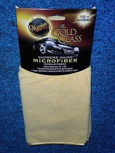 Meguiars The Gold Class Microfiber Extra Large 16x24 X2010 T 10