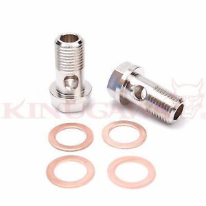 Kinugawa Turbo Banjo Bolt M18x1 5 Gt37 Gt40 Gt42 Turbo Water 2 Set