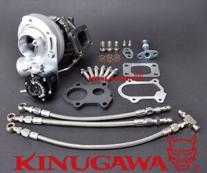 Kinugawa Billet Turbocharger Td04l 15t W 5cm T25 Housing 1 3 2l 150 250hp