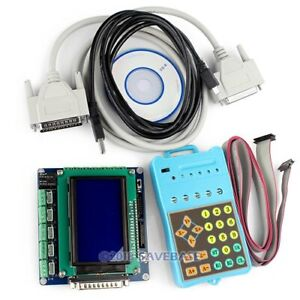 Upgrade 5 Axis Cnc Breakout Board Lcd Display Handle Controller Gcode Store