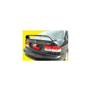 Wingtech Abs 178 Factory Style Spoiler Lighted 1996 2000 Honda Civic 2 dr Si