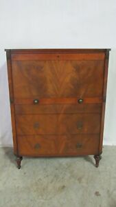 Beacon Hill Mahogany Chest Desk Bedroom Set