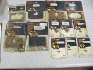 Lot Of New Holley Carb Parts Gaskets Jets Power Valves Lot Of 12