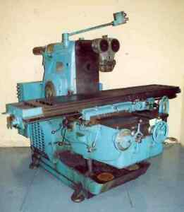 Kearney Trecker Model 425tf 17 Horizontal Mill Yoder 15572
