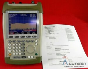 Rohde And Schwarz Fsh3 23 Fsh3 Mobile Spectrum Analyzer 101959 Calibrated
