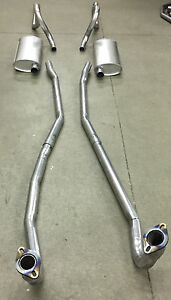 1966 67 Charger Coronet Belvedere Satellite Dual Exhaust Aluminized W 383