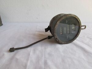 Antique Rare Jeager Speedometer Odometer Original Not Tested Lqqk