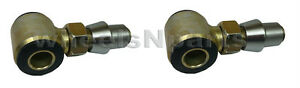 Two 3 4 Thread 4 Link Bar Rod End Urethane Bushings 1 25 Weld In Bung 2 Wide