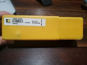 Kennametal Nsr 206d Cokv02 Indexable Tool Holder W Na6r2 Kc810 Carbide Insert