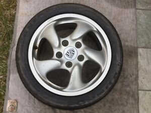 Porsche 986 Boxster S Oem Factory Genuine Original Equipment 17 Wheel Set Only