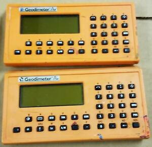 One Geodimeter Pro Control Unit Untested Two Available Cls