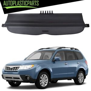 For 2009 2013 Subaru Forester Cargo Cover Security Trunk Shield Black New
