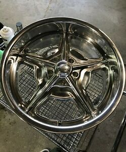 Billet Specialties Legends Series Speedway Polished Wheels