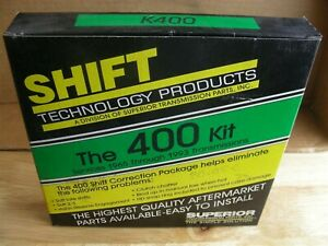 Superior Transmission Parts Shift Technology The 400 Kit