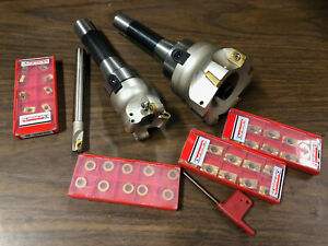 R8 Milling Tool Set Shell Mill Face Mill 40 Inserts Cnc Milling manual