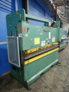 Used Hydraulic Press Brake 50 Ton X 8 1 8 Inch Over 6ft Made In Usa