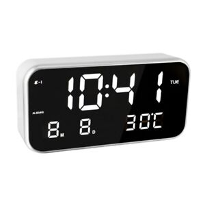 Led Multifunction Digital Electronic Thermometer Temperature Measure Led Mirror