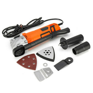 500w 220v Electric Multifunction Oscillating Tools Kit Multi tool Grinding Cutti