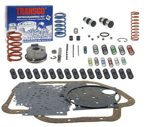 Transgo 400 Pro Shift Kit High Performance Th400 Transmission Valve Body Upgrade