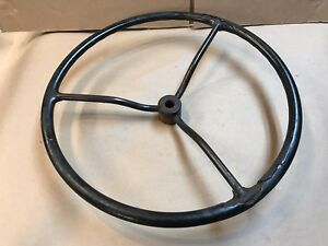 Old Tractor Steering Wheel Lawn Tractor Steampunk Decor 17 1 2 Wheel Horse