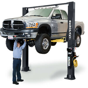 Bendpak 5175399 Two post Vehicle Lift 10k Lbs 168 Inch Extended