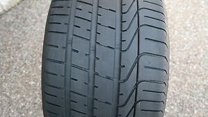One 1 Excellent Condition Pirelli P Zero 295 30 20 Tire