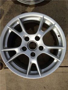 Porsche Oem Factory Genuine Original Equipment 987 Boxster 17 Wheel Set Only