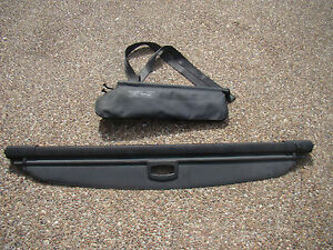 Mercedes Ml And Gl Class Oem Black Rear Cargo Boot Cover Partition Divider Net