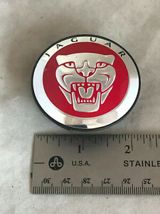 1988 17 Jaguar Xf X S Types Red Wheel Hubcap Hub Center Cap Sw93 1a096 Ae