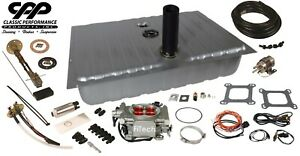 1964 66 Ford Mustang Fitech 30003 Efi Fuel Injection Gas Tank Fi Conversion Kit