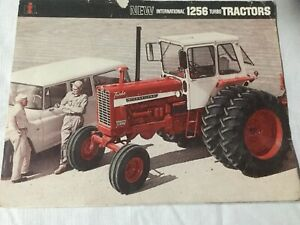 New International 1256 Turbo Tractor 6 Pages 1967