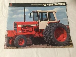 International Farmall 756 And 856 Tractors 16 Pages 1968