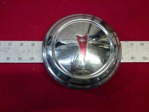 Pontiac Dog Dish Hub Cap Lemans Firebird 1960 S 1970 S Very Good 6 3 4