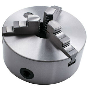Hardened Steel 6 3 Jaw Self centering Lathe Chuck For Cnc Drilling Milling
