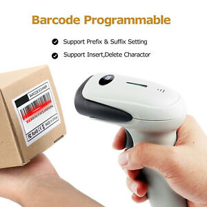 Wireless Usb Barcode Scanner Handheld Automatic Ccd Barcode Scanner Reader 2 4gh