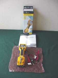 New Fluke Networks Ts22 Telephone Lineman Test Set W Angled Pin Clips 22800001