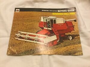 International Farm Equipment Buyer s Guide 1969 28 Pages Sales Brochure