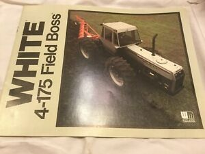 White 4 175 Field Boss 16 Pages 1990 s